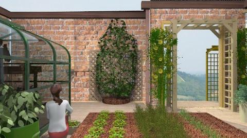 Walled garden - Garden  - by auntiehelen