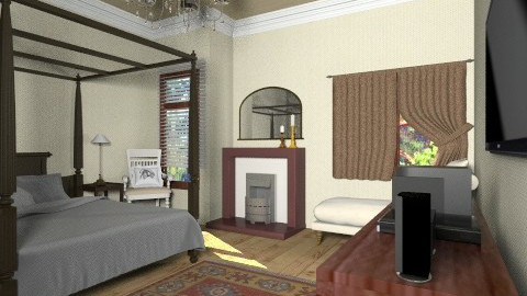 reunion - Rustic - Bedroom  - by Veny Mully