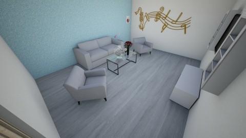 The Living Room - Minimal - Living room  - by owlgirl0725