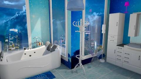 Blue 2 - Glamour - Bathroom  - by Nina2601