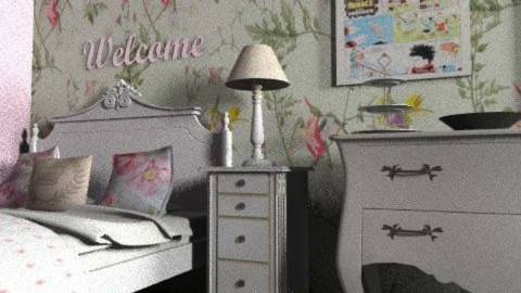 Vintage Bedroom - Vintage - Bedroom  - by BambooPenguin