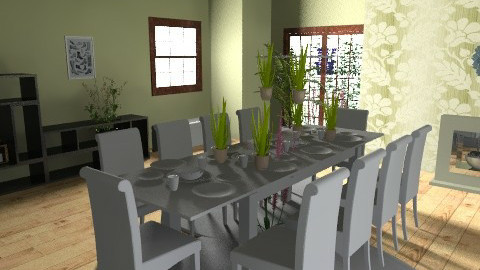 s2 - Dining room - by magggie