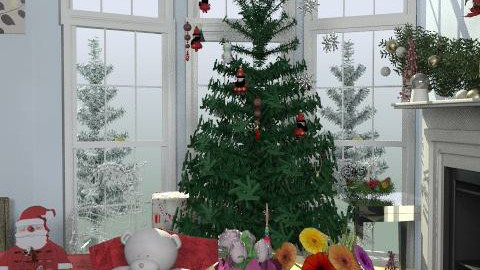 christmas tree at mands - Eclectic - Living room  - by leendave