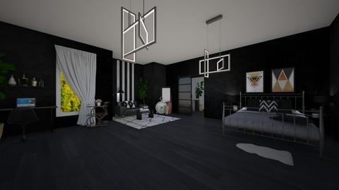 teen bedroom - Bedroom  - by guacamolestyle