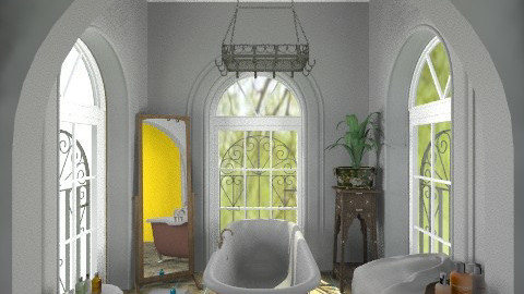 Bath - Eclectic - Bathroom  - by milyca8