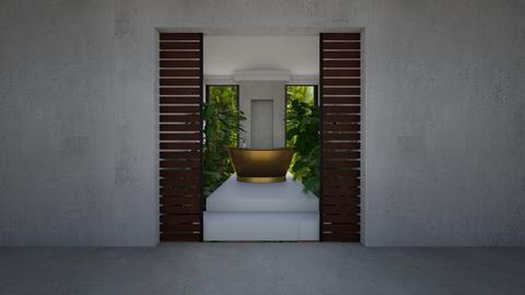 rainforest bathroom - by fred20