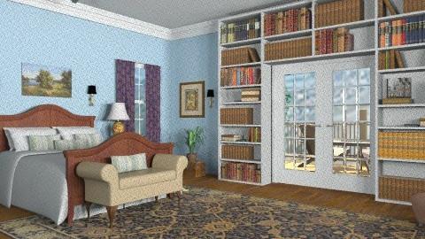 Blue Bedroom II - Classic - Bedroom - by wwrightsc