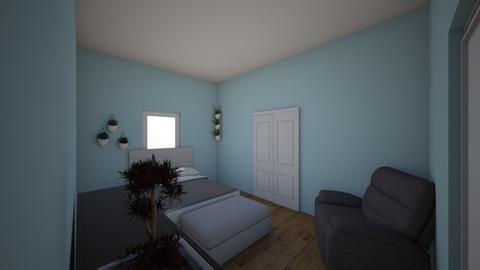 Khaleel Nasaredden - Bedroom  - by ibdesignclass