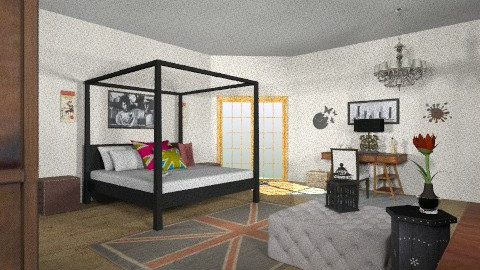 cool - Eclectic - Bedroom  - by sharynbuman