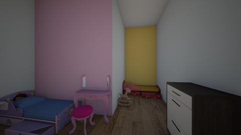 Twin boy and girl Room - Kids room  - by Lilly_Miller