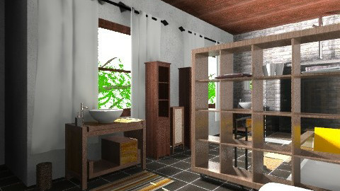 saladeban3 - Rustic - Bathroom  - by izarochaa