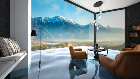 flooded Chair and a glass - Living room  - by itsbinflooded