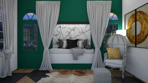 Green Nook - Bedroom  - by JaidenMLegg