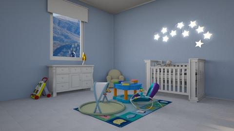 baby room - Minimal - Bedroom  - by okei_imdone
