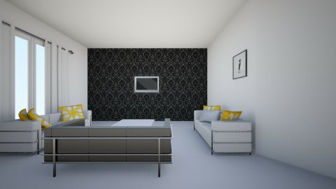 condo family room - Modern - Dining room - by mgirl