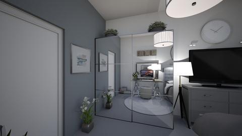 helins bedroom - Bedroom  - by emmaaafsr