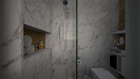 Casa283Bathroom - Modern - Bathroom  - by nickynunes