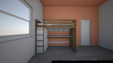 room 4 - Bedroom  - by sabescaderamos