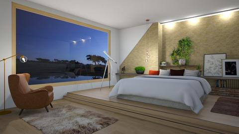 Night Sky - Bedroom  - by yonvie