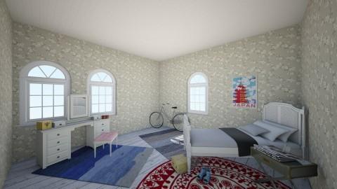 retro bedroom - Retro - Bedroom  - by 237rhys