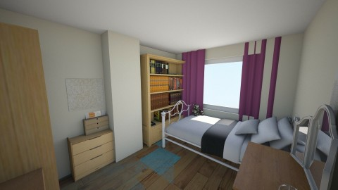 My Room - Bedroom - by MaisieTang