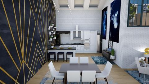 My First Loft_Kitchen - by Feeny