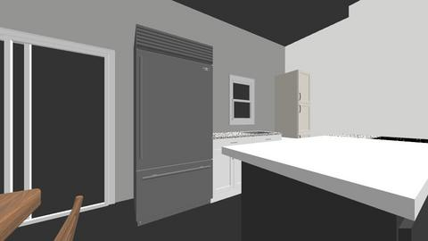Design 1 middle island - Kitchen  - by JessicaTH