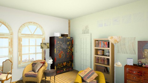 comfy beach room 4 - Eclectic - by Elizabeth Lincoln