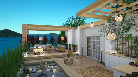 rooftop terrace  - by nikola00211