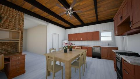 Kitchen 2 Paint Paneling - Country - Kitchen  - by KitchenFirUs