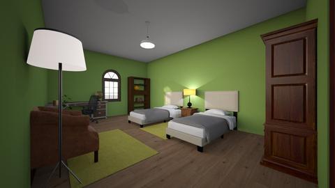 Room where i ll be shift - Vintage - Bedroom  - by yfsdukhkgwob