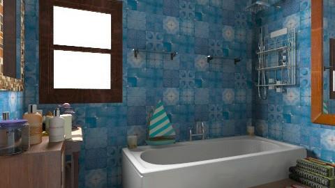 bano - Modern - Bathroom - by puentecita