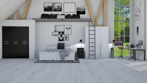 bunkbeds - Modern - Bedroom  - by NEVERQUITDESIGNIT