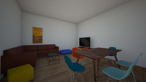 W en T Bungalow ontwerpen - Living room  - by Soso2008