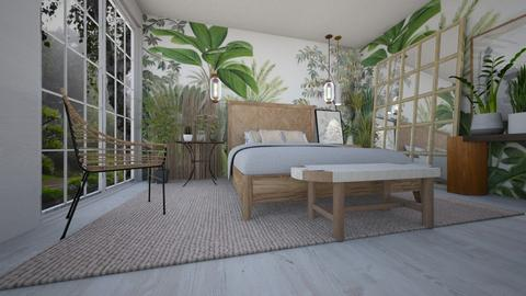 plantas2 - Bedroom  - by ana111