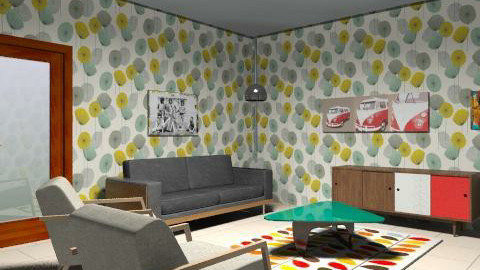 New House - Retro - Living room  - by wearethemods
