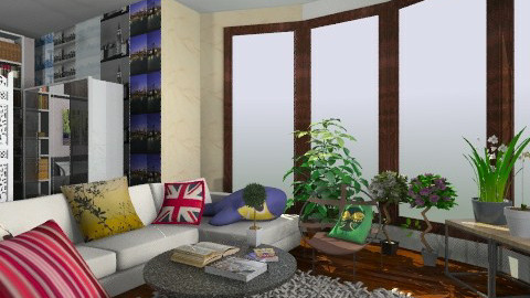 Apartment - Retro - Living room  - by KatherineL