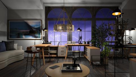 Stormy_Office - Office  - by ZuzanaDesign