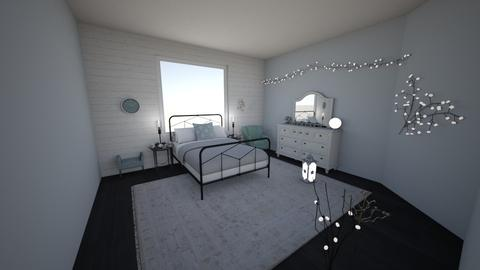 Winter Bedroom - Bedroom - by madiwiggy