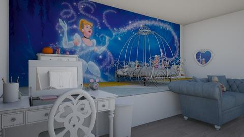 Cinderella Kids Room - Glamour - Kids room  - by avika