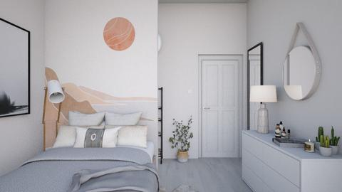 aesthetic small bedroom - Minimal - Bedroom  - by karisahsalim