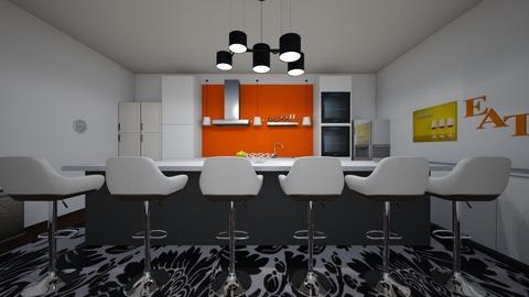 Kitchen_Guest house - Modern - Kitchen - by Ahmedb