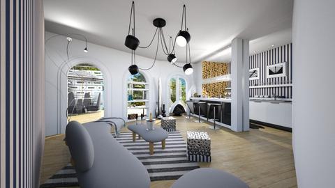 B3_living - Minimal - Living room  - by Aeea P