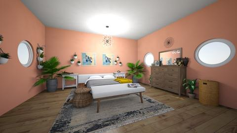 pink - Bedroom - by canelita
