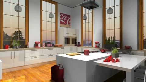 Family Kitchen - Modern - Kitchen  - by camilla_saurus