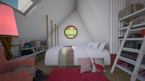 sloping - Modern - Bedroom  - by donella