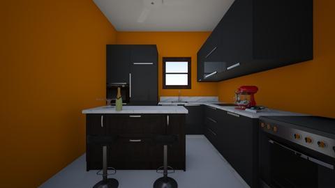 Simple Kitchen - Minimal - Kitchen  - by Lizeth Betancourt