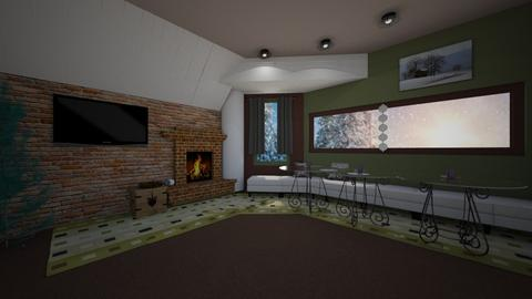 Christmas living room - Modern - by PAPIdesigns