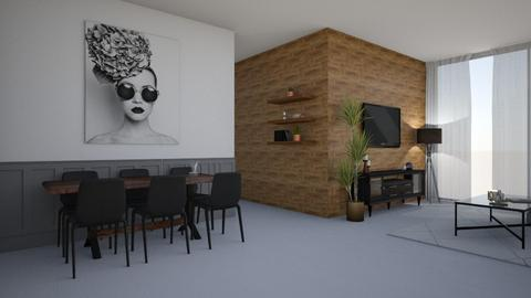 LIVING ROOM - Modern - Living room  - by etibennaim