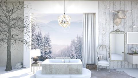 White bathroom - Bathroom  - by hmm22